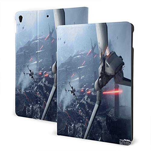 Slim Smart Case For Pad Air 3 2020, Pad 10.2 Case 2020, Pad 7th Generation Case Auto Sleep/Wake Cover Viewing/Typing Stand Modes Flexible Tpu Back-First Order Trooper_Star Wars Battlefront Ii