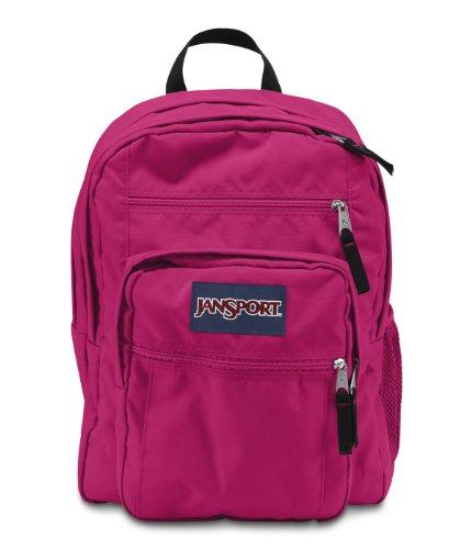 JanSport Big Student Backpack Pink Tulip One Size