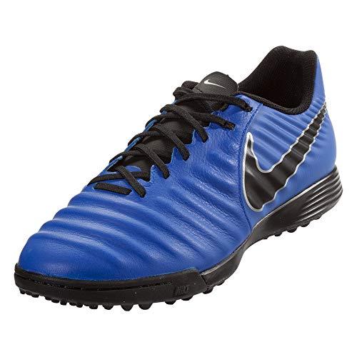 Nike Legendx 7 Academy TF, Zapatillas de Fútbol Hombre, Azul (Racer Blue/Black/Metallic...