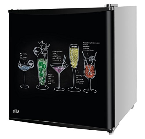 Kuhla KTTF4BGB-1001 Mini Fridge with Ice Box - Cocktail Design