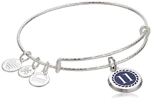 Alex and Ani Color Infusion Numerology Eleven EWB, SS, Shiny Silver, One Size (A20EBNUM11SS)