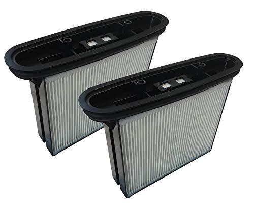 2x Filter geeignet für BTI/Baier / 3m Mobile/Storch/emm Hamach/Berner/Milwaukee/Rothenberger - PES (auswaschbar) verschiedene Modelle (siehe Produktbeschreibung)