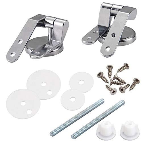 ghfcffdghrdshdfh zinklegering vervanging toiletbril scharnieren houders set badkameraccessoires