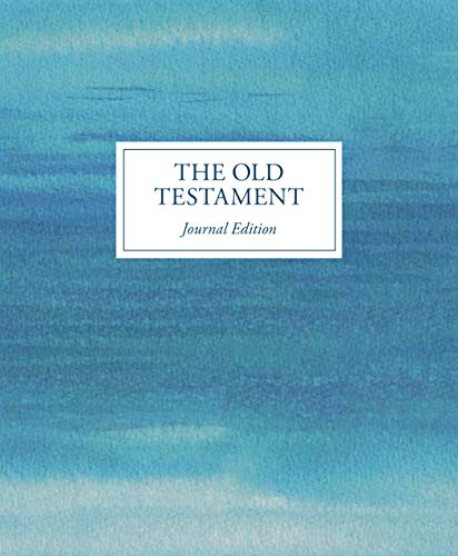 The Old Testament Journal Edition (blue)