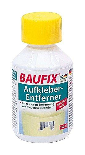 3 x Baufix Aufkleber-Entferner, 150 ml