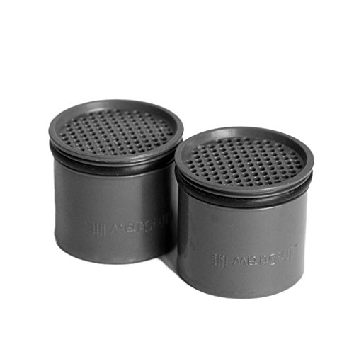 LifeStraw Ersatz Aktivkohle-Kapseln Steel Filter, Silber, M