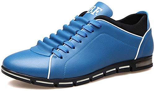 Fannyfuny_Zapatos para Hombre Zapatos Casuales Zapatillas Running Hombre Zapatillas Deportivas de Cordones Aire Libre y Deporte Transpirables Casual Zapatos Gimnasio Correr Sneakers