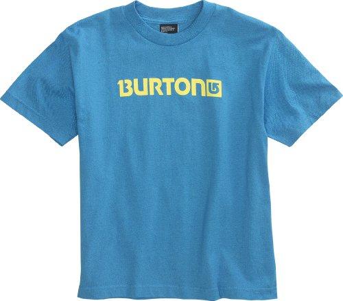 Burton t-Shirt Shortsleeves Enfant garçon Logo Horizontal L Turquoise - Turquoise