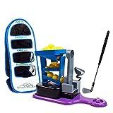 Juego de golf de juguete para niños Infantil Golf Club de conjunto de juguete con sonido y efectos de sonido interacción entre padres e hijos de luz interior de ocio Golf Deportes Kids Golf Club Set