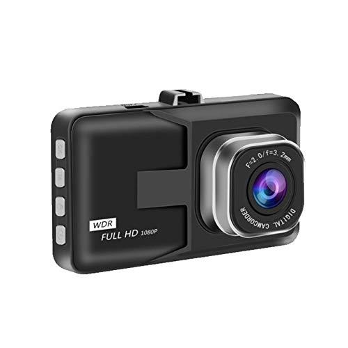 Cámara de Tablero 3 Pulgadas Dash CAM Coche DVR Grabador de Video HD 1080p Ciclo de grabación de círculo Visión Nocturna Registrador de conducción de Gran Angular Dashcam Video Registrador
