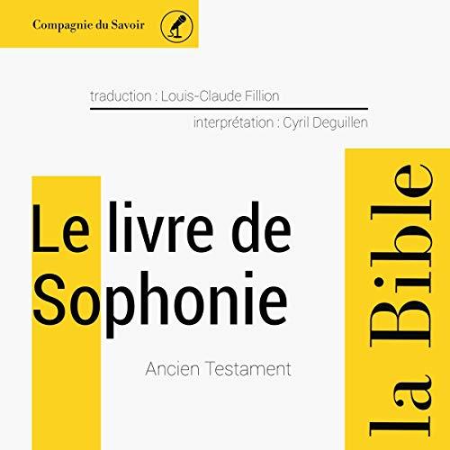 Couverture de Le livre de Sophonie