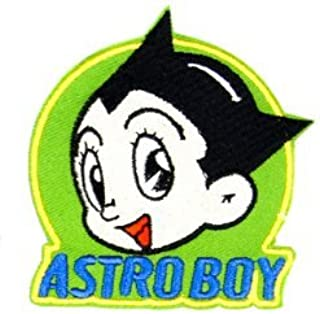 Atom Astro Boy Manga Comic Military Patch Fabric Embroidered Badges Patch Tactical Stickers for Clothes with Hook & Loop