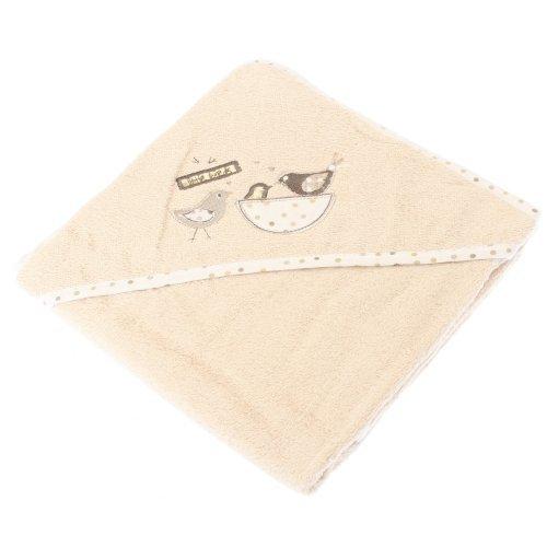 Baby Unisex kleine vogels ontwerp capuchon 100% katoen badhanddoek (30 x 30 inch) (eige)