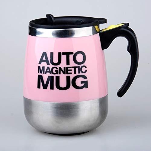Laifeng ZIMO Automatischer Mixbecher Kaffeetasse tragbar Haushalt Mixer (weiß) Rose