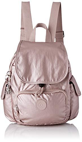 Kipling Damen City Pack Mini Rucksack, Pink (Metallic Rose), 27 x 33,5 x 19 cm