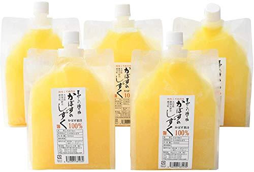 あねさん工房 無添加 生絞りかぼす果汁 100% 1L×5本