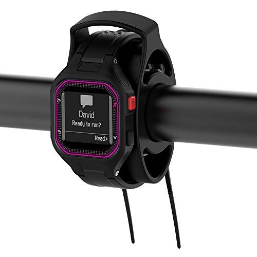 KOMI Kit de soporte de bicicleta para Garmin Sports Watch Kit de bicicleta para Approach S1 S3, Forerunner 305 610 910xt 310xt 405cx Universal Smart Watch