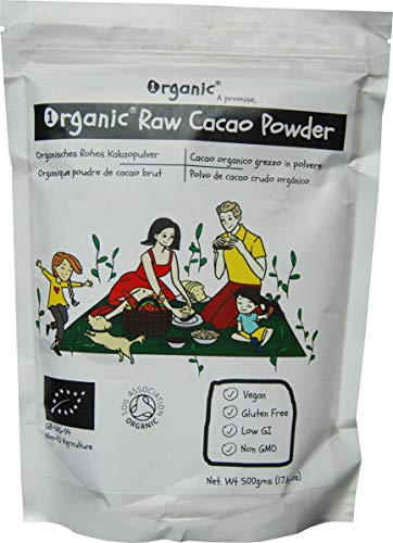 Poudre de Cacao cru, Cocoa, 100% certifié ORGANIQUE/BIOLOGIQUE/ORGANIC, pur, naturel, 500g