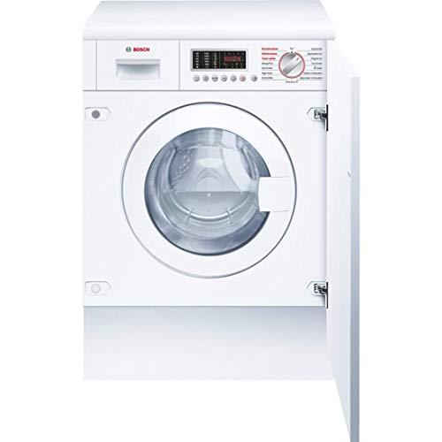 Bosch WKD28541 Serie 6 Waschtrockner / B / 1080 kWh/Jahr / 7/4 kg / 1400 UpM / Weiß mit Glastür / AutoDry / NightWash / ActiveWater™ Mengenautomatik