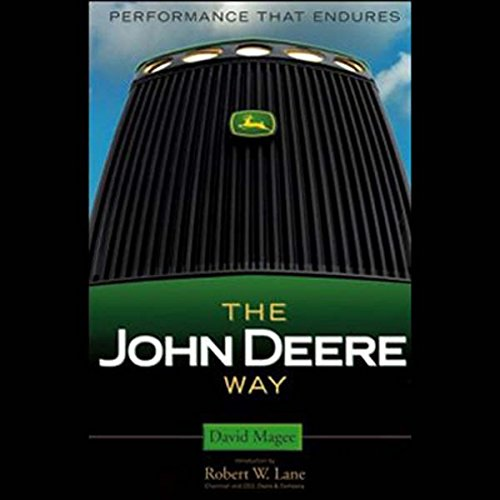 The John Deere Way audiobook cover art