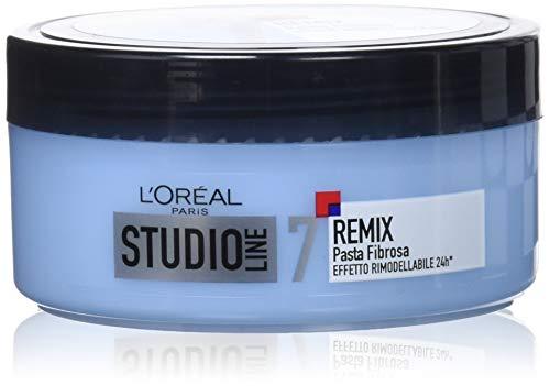 L Oréal Paris Studio Line Remix Pasta Fibrosa, Tenuta 24H, Effetto Rimodellabile, Non Indurisce, 150 ml
