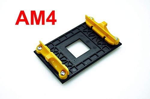 ANBE AM4 Soporte de retención y Placa Trasera AM4 (para el Ventilador de refrigeración del disipador de Calor AM4, Solo con Clip de Montaje)