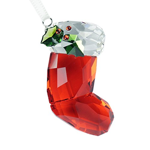 Swarovski Babbo Natale Calza Ornamento