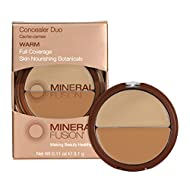 Mineral Fusion Compact Concealer Duo, Warm Shade, 0.11 Ounce (Packaging May Vary)