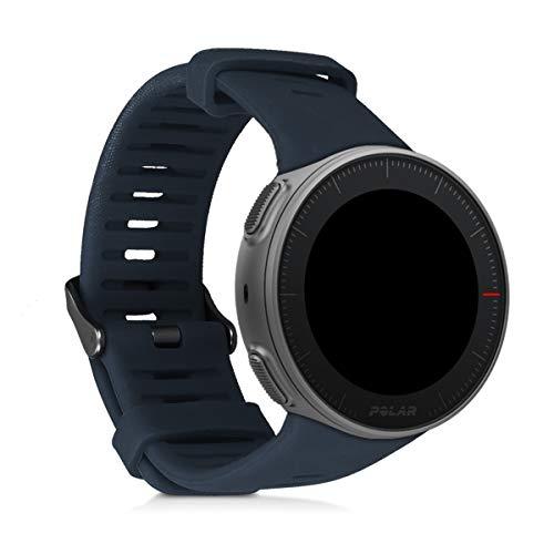 kwmobile Armband kompatibel mit Polar Vantage V Armband - Silikon Fitnesstracker Sportarmband Band