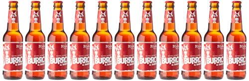Burro de Sancho Cerveza estilo Red Ale - 12 botellas x 330 ml - Total: 3960 ml
