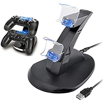 PS4 Controller Charger Playstation 4 / PS4 Slim / PS4 PRO / PS4 Controller Charger Charging Station Charging Station Dual USB Fast Charging Ps4 Station for Sony PS4 Controller by IHK