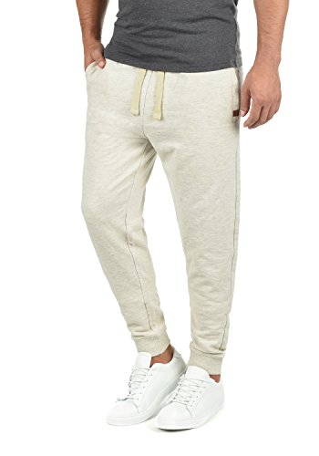 Blend Tilo Herren Jogginghose Sweat-Pants Sporthose aus hochwertiger Baumwollmischung, Größe:XL, Farbe:Sand Mix (70810)