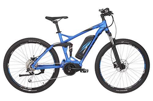 FISCHER E-Bike MTB EM 1862.1 (2019), blau matt, 27,5