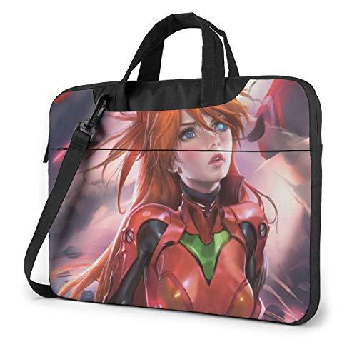 15.6 inch Laptop Shoulder Briefcase Messenger Anime EVA Ayanami Rei Tablet Bussiness Carrying Handbag Case Sleeve