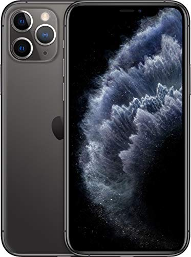 Apple iPhone 11 Pro, US Version, 64GB, Space Gray - Unlocked (Renewed)*