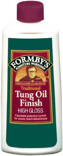Formbys 30066 High Gloss Tung Oil Finish, 8-Ounce
