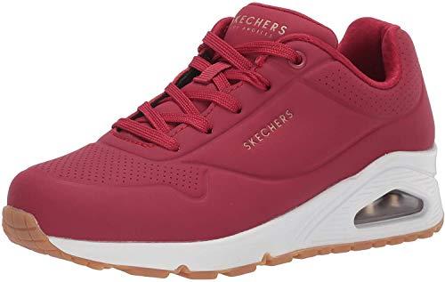 Skechers 73690-39, Zapatillas Mujer, Dkrd Dark Red, EU