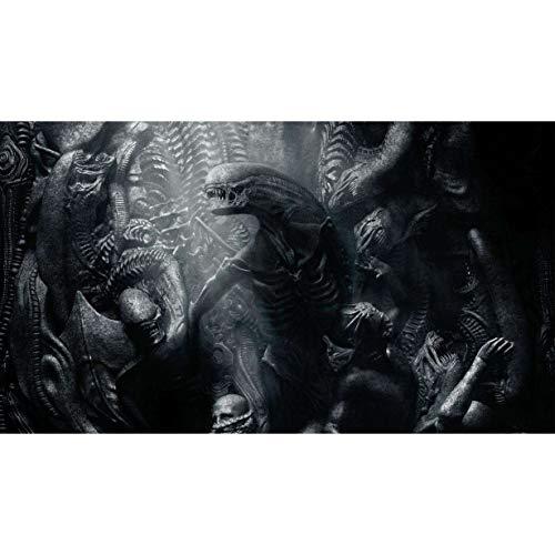 Alien VS.Predator: Xenomorph Queen Jigsaw Puzzle Puzzles for Adultos y Adolescentes 300/500/1000/1500 Piezas (Personalizable) (Size : 500Pieces)