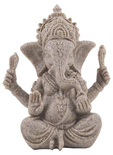 PETBACOO Fish Tank Decorations Ganesh Buddha Statue Aquarium Ornaments Home Decorations Gift (TypeA)