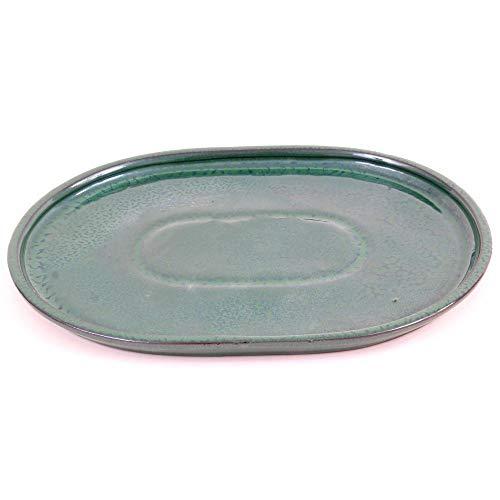 Bonsai 54311 Soucoupe ovale Vert 31 x 24 cm