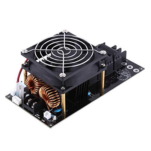 Calentador de inducción, módulo de calentamiento de modos de salida dual, 1000 W con ventilador de enfriamiento incorporado Calentamiento rápido con tubo de cobre para fundir oro fundir
