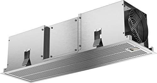 Bosch DIZ1JX5C1 - Accessorio per cappa aspirante/Clean Air Standard/per ricircolo dell'aria/combinabile con ventilatori a soffitto/acciaio INOX