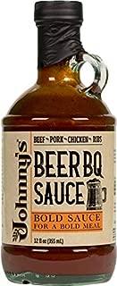 Johnny's BeerBQ Sauce 12 oz