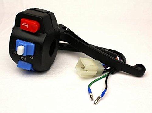 Bremshebel inkl. Schalter Blinker Links 4 Takt Roller Baotian, Rex,Buffalo,Flex-Tech,Ering,Tauris,Zongshen