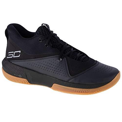 Under Armour 3023917-003_48, Zapatillas de Baloncesto Hombre, Negro, EU