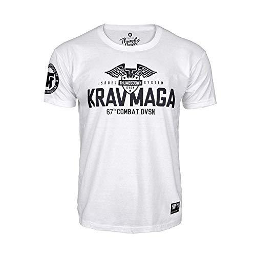 Thumbsdown Pulgares Down Krav Maga Camiseta Israel Sistema 67th Combat Dvsn. MMA....
