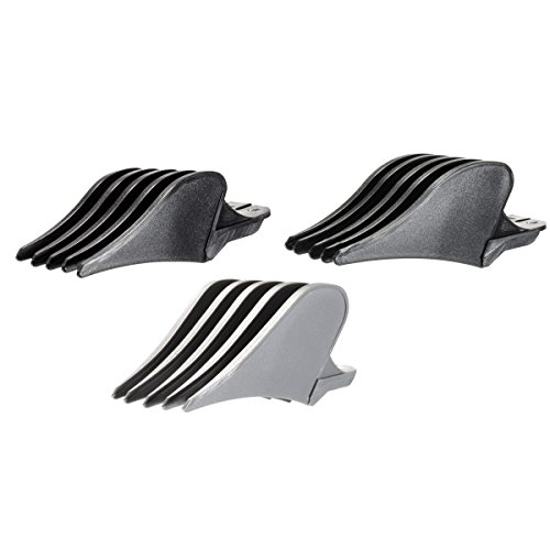 Miaco Size 10, 12 and 16 (1.25', 1.5' and 2') Clipper Guide Comb Set fits Wahl Clippers