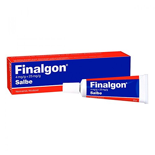 FINALGON 4 mg/g + 25 mg/g Salbe 20 g