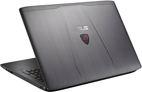 ASUS ROG GL552VW-DH71 15-inch Gaming Laptop, Discrete GPU GeForce GTX 960M 2GB VRAM, 16GB DDR4, 1TB (ROG Metallic)