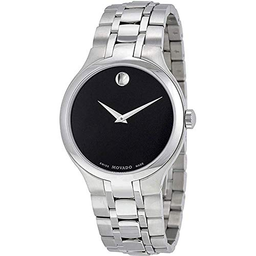 Movado Men's Museum Watch Swiss Quartz Sapphire Crystal 606367